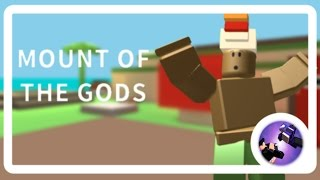 Roblox Mount of the Gods Mask Collectors Ep.1 - Starting Out!