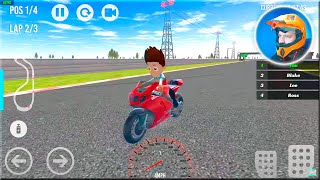 PAW Ryder Moto Racing 3D Game - Patrol Games #Bike Game