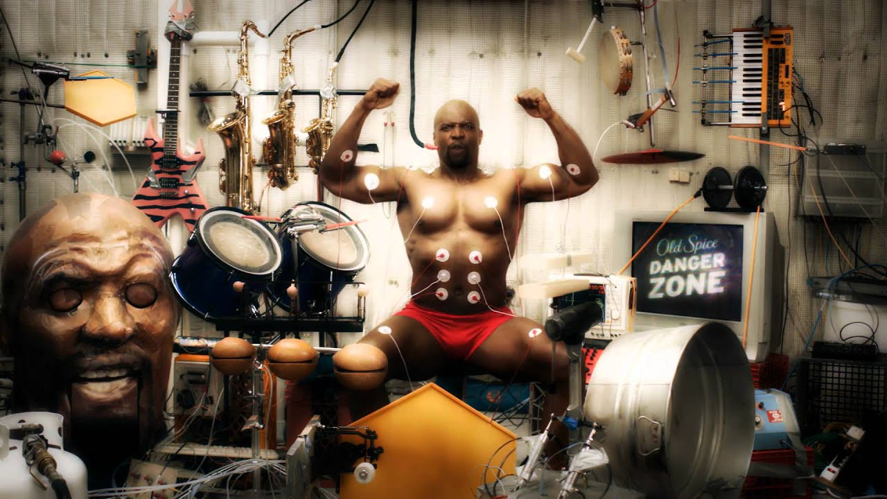 Where can you find the old spice theme song