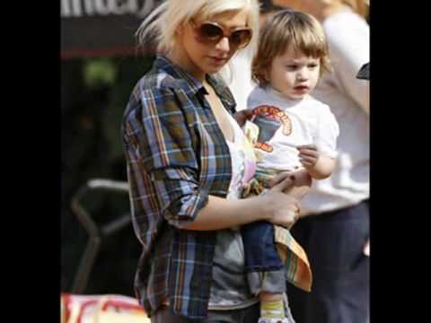 Christina Aguilera Family with Maxy and Jordan 2010