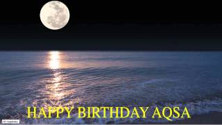 Aqsa  Moon La Luna - Happy Birthday