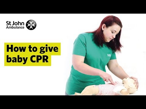 How to Give Baby CPR - First Aid Training - St John Ambulance