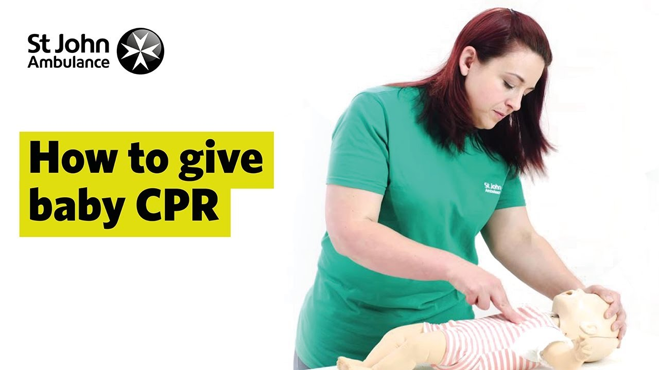 How to Give Baby CPR - First Aid Training - St John ...