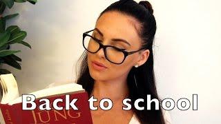 BACK TO SCHOOL - makeup, vlasy, outfity + recenzia na Paese a štetce MODA