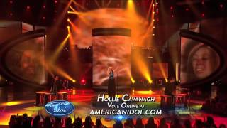 """Hollie cavanagh performs """"rolling in the deep"""" by adele at top 7 redux performance show. check out full performances with judges' commentary only http..."""