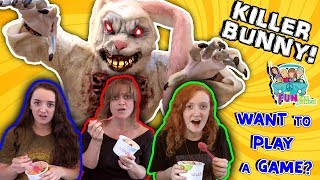 FUNNY SKIT BUNNY... IN THE WOODS REVENGE...PRANK, FUNKEE BUNCH DOES IT AGAIN!! thumbnail