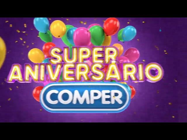 Instore - Criação para Grupo Pereira | Comper: Aniversário COMPER