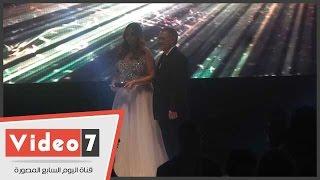 بالفيديو.. تكريم نيكول سابا وداليا البحيرى وغادة رجب ونجلاء بدر فى حفل الدير جيست