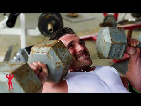 Josh Halladay Chest Workout at Fitness City