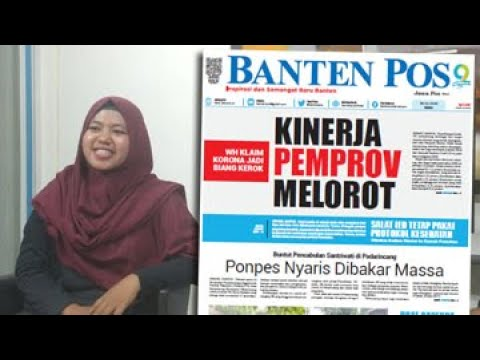 KINERJA PEMPROV BANTEN MELOROT / PONPES NYARIS DIBAKAR MASSA / BANPOS HARI INI 29/7/2020