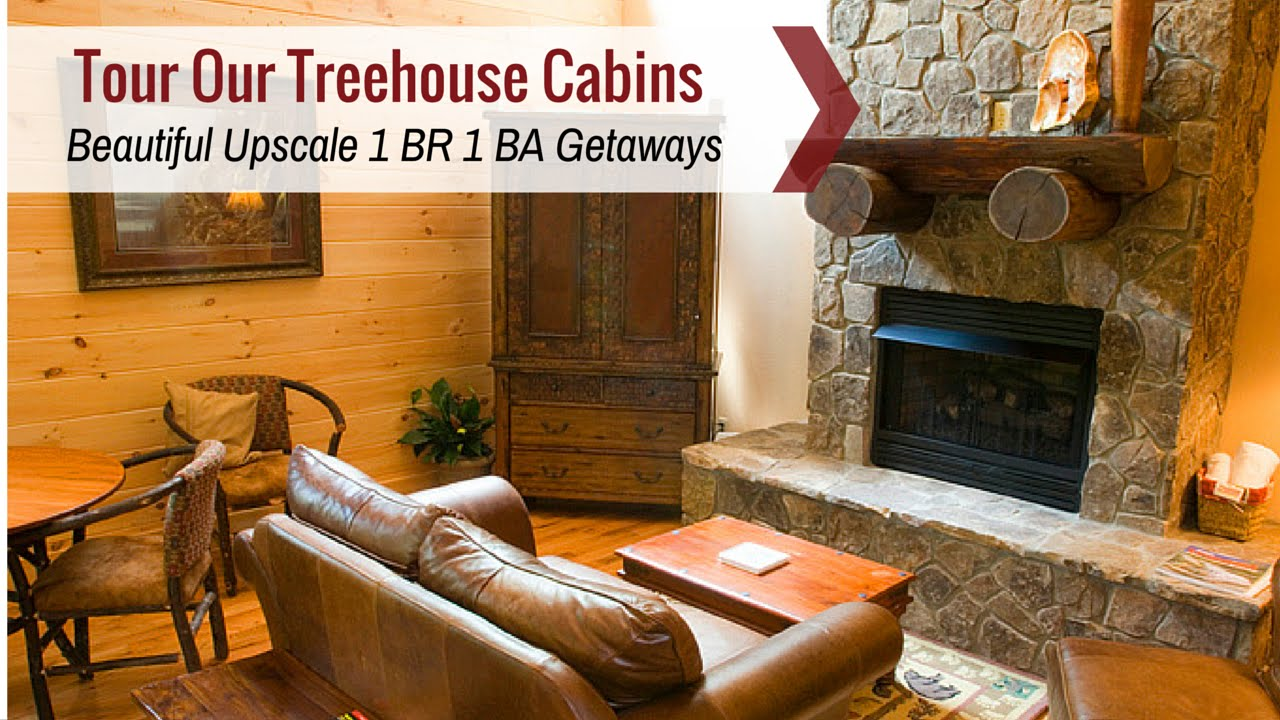 Tour Cabins In The Great Smoky Mountains | Watershed Tree Houses, The Perfect North Carolina Cabins