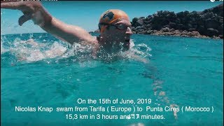 Swimming Tarifa to Morocco