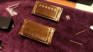 EMG HetSet Install JH-3 signature James Hetfield ESP Metallica