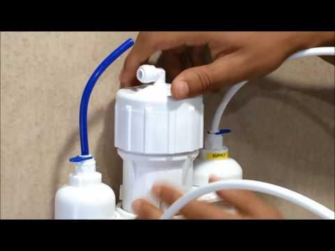 reverse osmosis faucet hook up