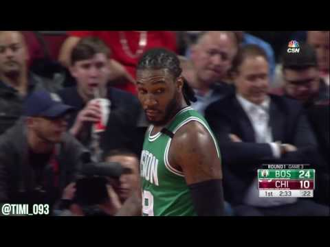 Jae Crowder R1G3 Highlights vs Chicago Bulls (16 pts, 6 reb, 3 ast)
