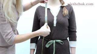як зняти мірки для сукні і зробити викрійку