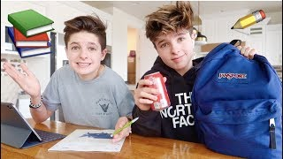 Identical TWiNS after school ROUTiNE!