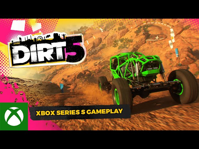 DIRT 5 | Xbox Series S | Official Next-Gen Gameplay