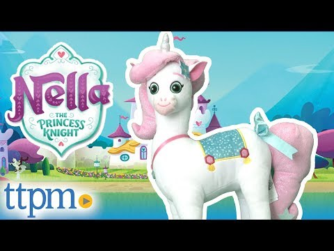 Nella The Princess Knight Stuffed Trinket From Vivid Toy Group