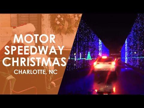 Charlotte Motor Speedway Christmas   North Carolina Weekend   UNC-TV