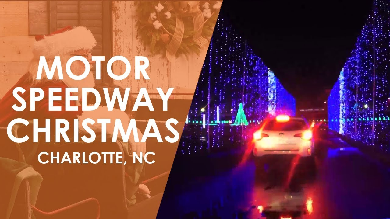 Charlotte Motor Speedway Christmas Lights.Charlotte Motor Speedway Christmas North Carolina Weekend Unc Tv