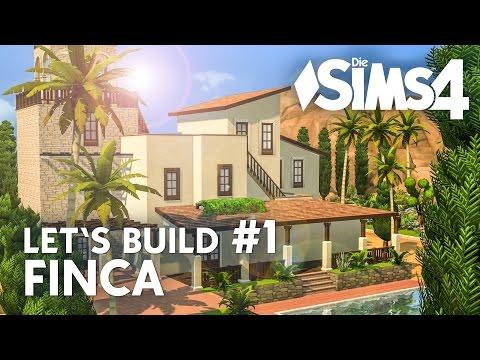 Free Die Sims Lets Build Finca Ferienhaus Bauen Deutsch With 4 Apartment