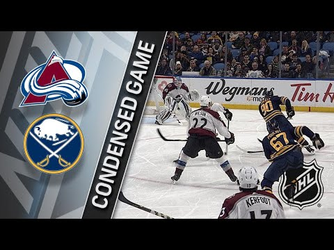 02/11/18 Condensed Game: Avalanche @ Sabres