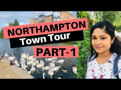 Northampton town tour - PART 1 | Lake Side | Summer Time | Malayalam vlog #EP-7