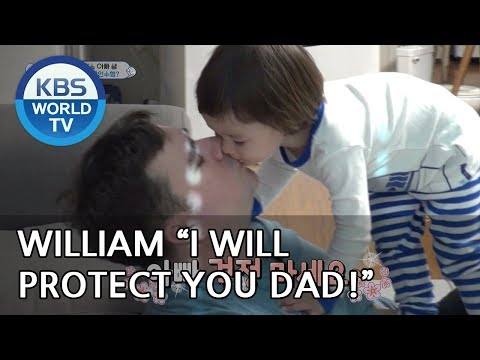 "William ""I will protect you Dad!"" [The Return of Superman/2018.12.16]"