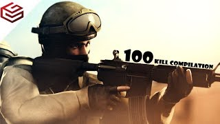 CS:GO My First 100 Kills (Noob Kills)