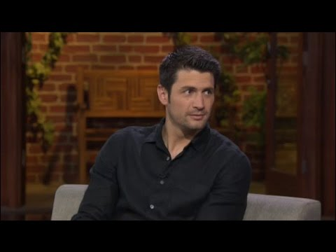 "Actor James Lafferty from ""Underground"" & ""Waffle Street"""