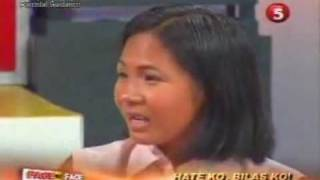 FACE TO FACE ON TV5 - HATE KO, BILAS KO! (THE MOST POPULAR EPISODE OF ALL TIME) (2/4)