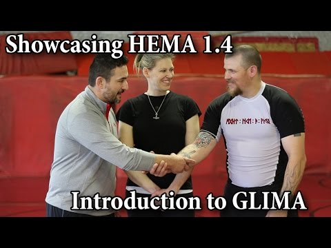 Introduction to GLIMA (Nordic Wrestling) - Showcasing HEMA