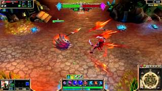 Dragonslayer Pantheon Skin Spotlight League of Legends