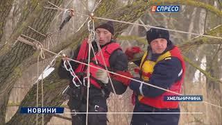 Навчання рятувальників, щодо протидії льодоходу та повені