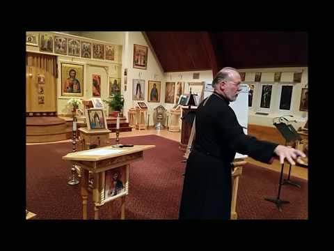 'A' of the ABC's of Orthodox Biblical Spirituality. Part 1. Catechumen Class 11