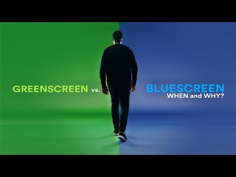 Greenscreen vs. Bluescreen   When and why?