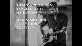 Dierks Bentley- Light it up ( Lyrics)