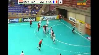 ハンドボール 世界ジュニア 準決勝 EGY vs FRA 2nd