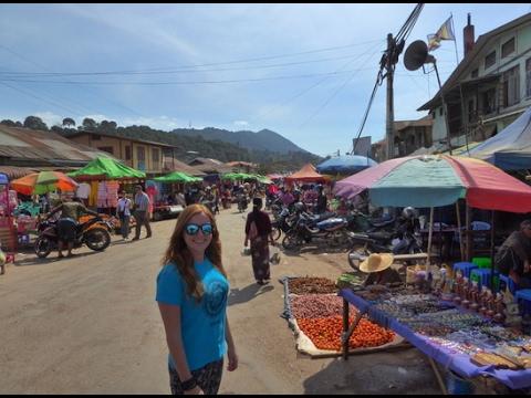 #72 KALAW, MYANMAR - FEBRUARY 2017 - BUS TRAVEL IN BURMA
