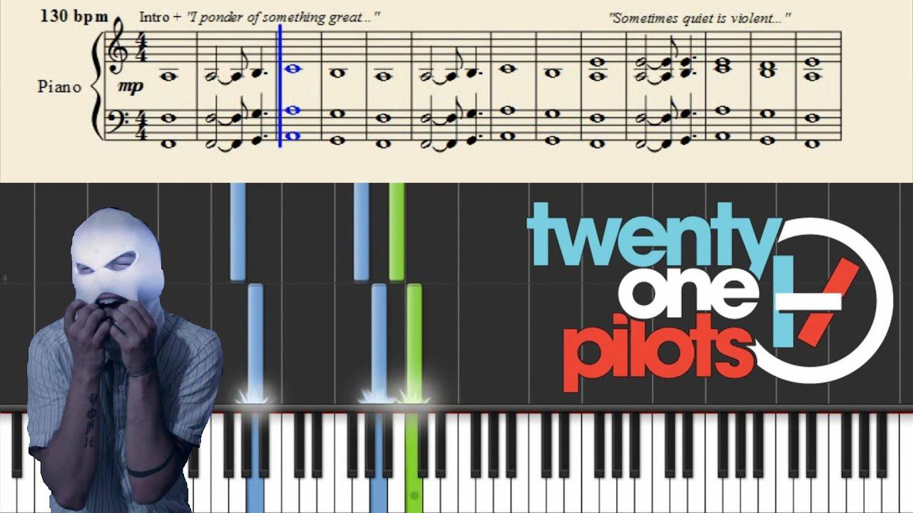 twenty one pilots Car Radio + Sheets Chords   Chordify
