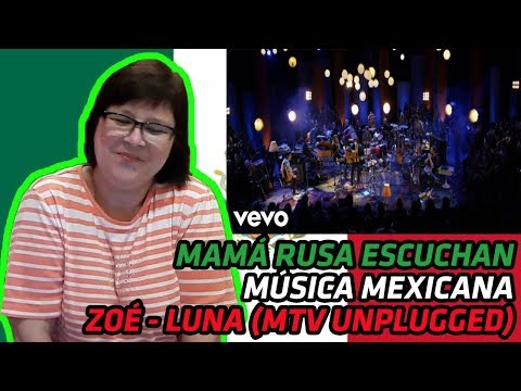 RUSSIANS REACT TO MEXICAN MUSIC | Zoé - Luna (MTV Unplugged) | REACTION
