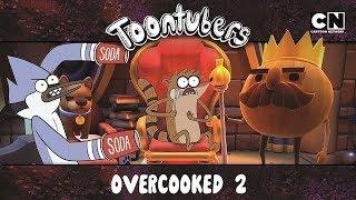 SAI DE MIM CEBOLA ESQUISITA! | Toontubers | Cartoon Network thumbnail