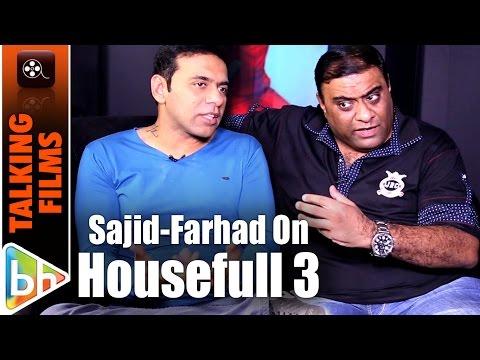 Sajid-Farhad's Exclusive On Handling A BIG Franchise Like 'Housefull 3' Mp3