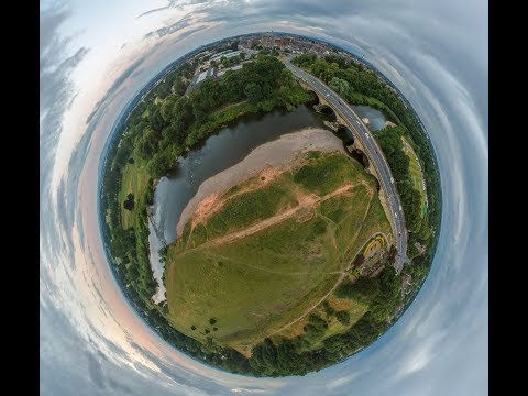 How To Create A Tiny Planet Photo With Your DJI Drone (Windows)