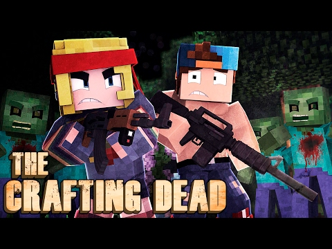 DON'T GO OUT AT NIGHT!   Crafting Dead Ep 6