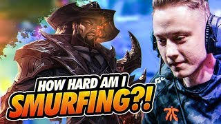 Rekkles | ADC Lucian - How hard am I SMURFING?!