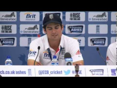 Alastair Cook Reacts To The England Ashes Game