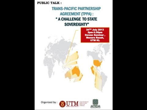 Trans-Pacific Partnership Agreement: A Challenge to State Sovereignty