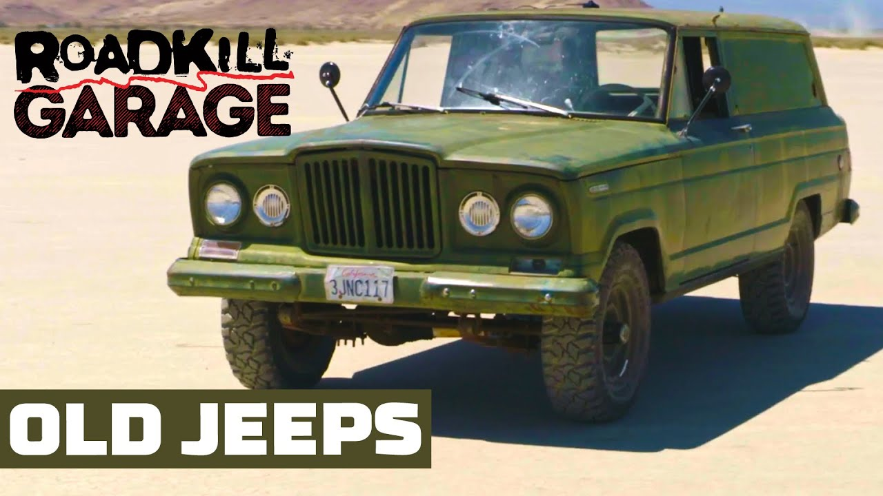 Old Jeeps Restored and Offroading ! | Roadkill Garage | MotorTrend